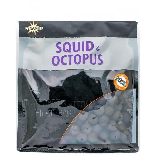 Бойлы тонущие Dynamite Baits Hi Attract Squid & Octopus S\L 20mm 350g