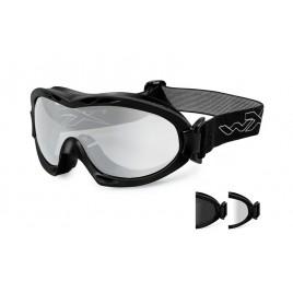 Очки Wiley X NERVE Smoke/Clear Matte Black Frame